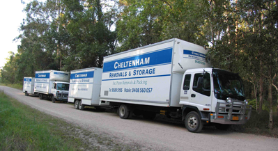 Cheltenham Removals Trucks